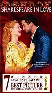Shakespeare in Love [VHS]