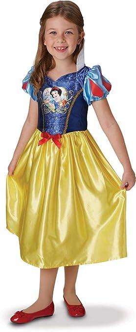 Princesas Disney - Disfraz de Blancanieves con lentejuelas para ...