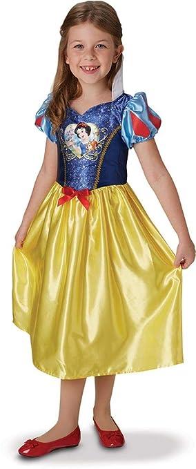 Princesas Disney - Disfraz de Blancanieves con lentejuelas ...