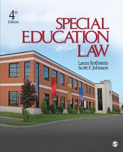 Special Education Law by Laura F. Rothstein (2009-04-02)