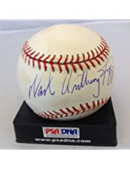 Wade Anthony Boggs 3010 Hits Full Name Signed American League baseball - PSA DNA Certified - Autogra