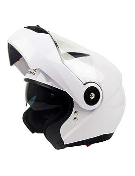 ZYear Casco de Motocicleta para Hombres Casco de Descubrimiento de Cara Completa Casco para Bicicleta Mujeres