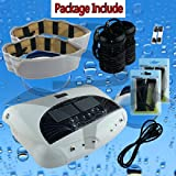 EHM Dual Foot Detox Machine Ion Foot Bath Spa Cell Cleanse with Far Infrared Belts