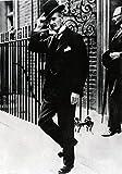 Arthur Neville Chamberlain (1869-1940) Premier Ministre D'Angleterre Sort Du 10 Downing Street Coll Print (24 x 36)