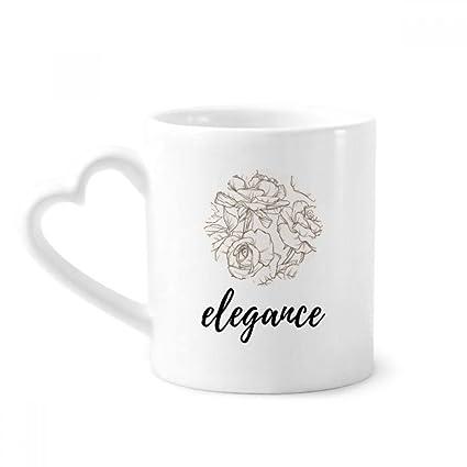 Amazon Com Line Drawing Drawing Art Plant Coffee Mugs Pottery