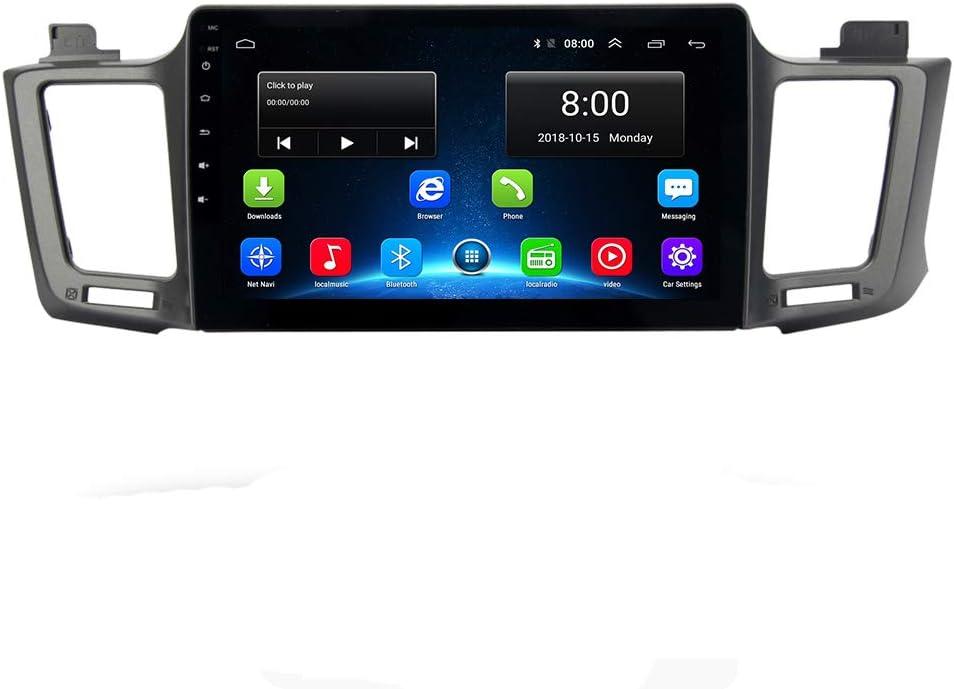 RAV4 14 Car GPS 2.5D IPS Android 9.1 for Toyota RAV4 2014-2017 Stereo Head Unit Permanent Radio Navi Radio Head Unit WiFi Free Map Head Device Navigation