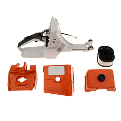 044 Gas Tank For Stihl 044 MS440 Chainsaw Parts Tune Up Kit Fuel Tank Rear Handle With Air Filter Cover Base Kit