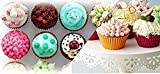 Silicone Muffin Cups, 12 Pack Baking Cups, Six