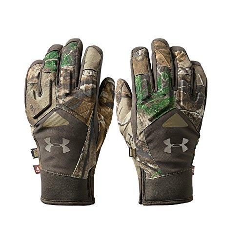 Under Armour Women's Primer Gloves, Realtree Ap-Xtra/Maverick Brown, Medium
