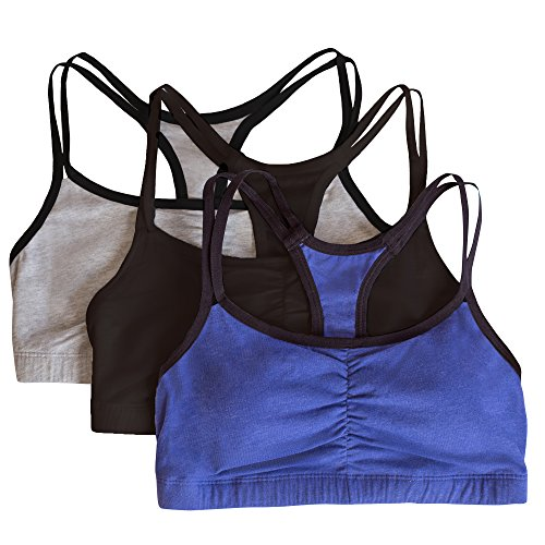 Fruit Of The Loom Women S Cotton Pullover Sport Bra Pack