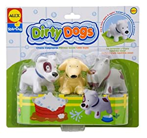 ALEX Toys Rub a Dub Dirty Dogs