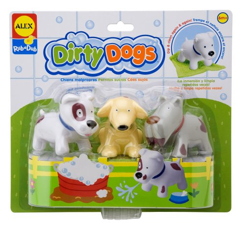 ALEX Toys Rub a Dub Dirty Dogs by ALEX Toys