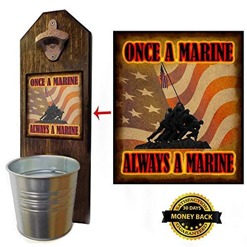 Jima, Once A Marine, Flag