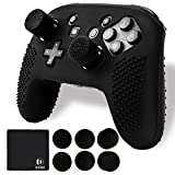 10 in 1 Nintendo Switch Pro Controller Skin Set by DOUBI - Including Pro Controller Cover ,8x Thumb Stick Caps Gel Guards,Cleaning Cloth