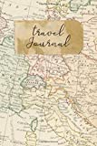 "Travel Journal: 6"" x 9"" Lined Blank Softcover 150"