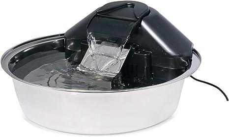 Amazon.com: PetSafe Drinkwell Zen Fuente de agua de acero ...
