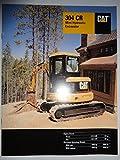 Caterpillar 304 CR Mini Hydraulic Excavator Sales Brochure Original