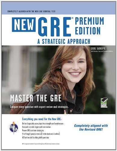 GRE: A Strategic Approach, Premium Edition (Book + Online) (GRE Test Preparation)