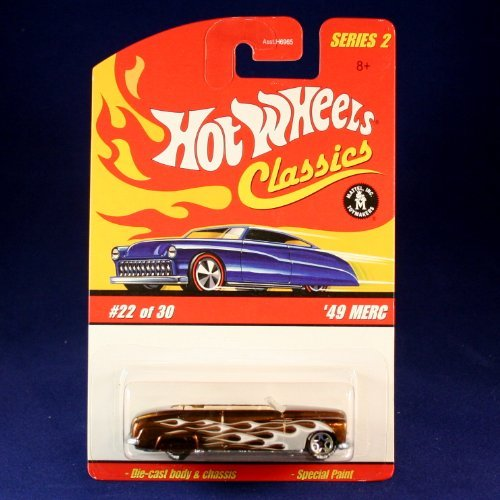 '49 MERC (COPPER) 2005 Hot Wheels Classics 1:64 Scale SERIES 2 Die Cast Vehicle ()