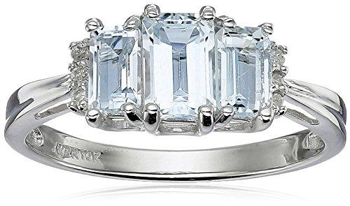 Diamond Accent 3 Stone Ring - 1