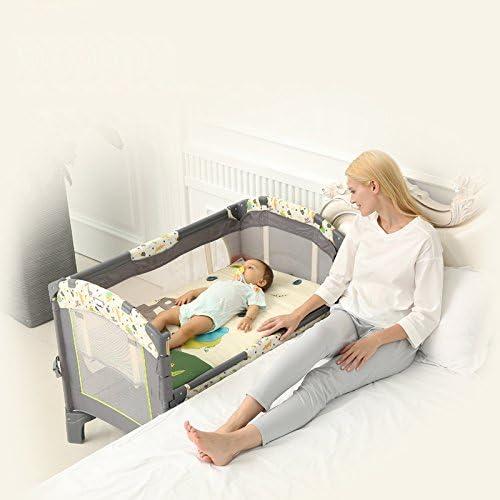 XFF Portable Pliant/Berceau/Polyvalent lit de bébé BB lit Couture Grand lit Berceau Nouveau-né,A,CM
