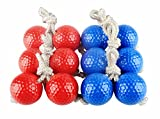 SUNFUNG Ladder Toss Ball Replacement Ladder Balls Bolos Bolas Ladder Golf With Real Golf Balls