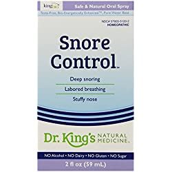 Dr. King's Natural Medicine Snore Control, 2 Fluid Ounce