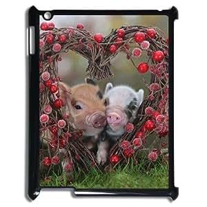 Pig The Unique Printing Art Custom Phone Case for Ipad2,3,4,diy cover case ygtg698528
