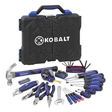 Kobalt 69-Piece Household Tool Set with Hard Case #63510
