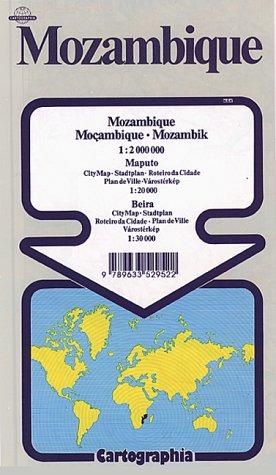 Mozambique (Cartographia World Travel Map)