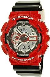 G-Shock Unisex GA-110RD-4ACR Red Watch