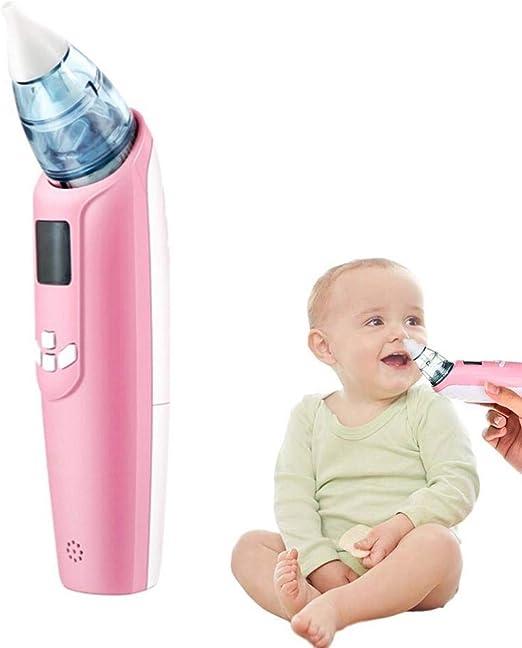 Volwco Aspirador Nasal para bebé, Aspirador Nasal eléctrico con 3 ...