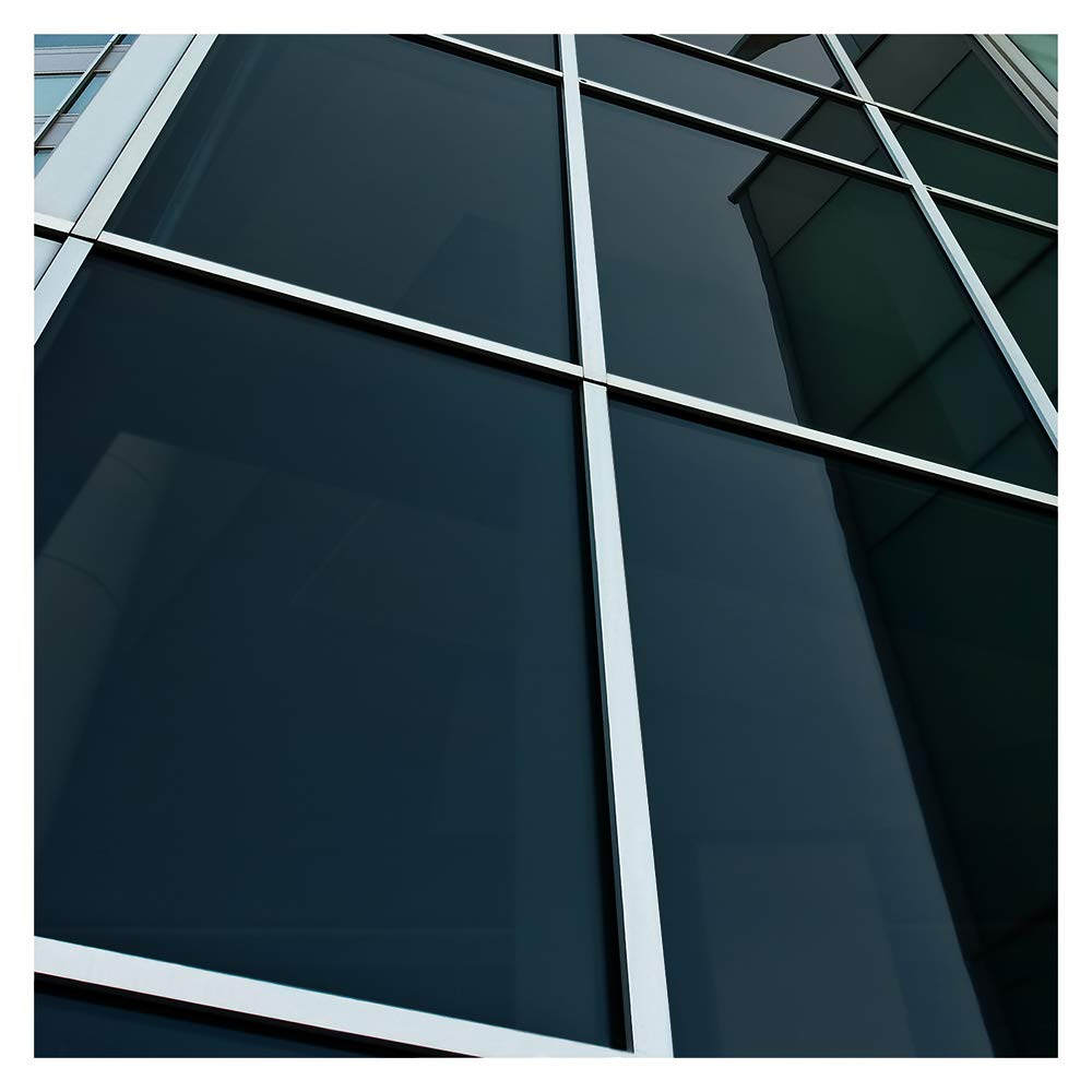 BDF NA05 Window Film Privacy and Sun Control N05, Black (Very Dark) - 36in X 24ft by Buydecorativefilm