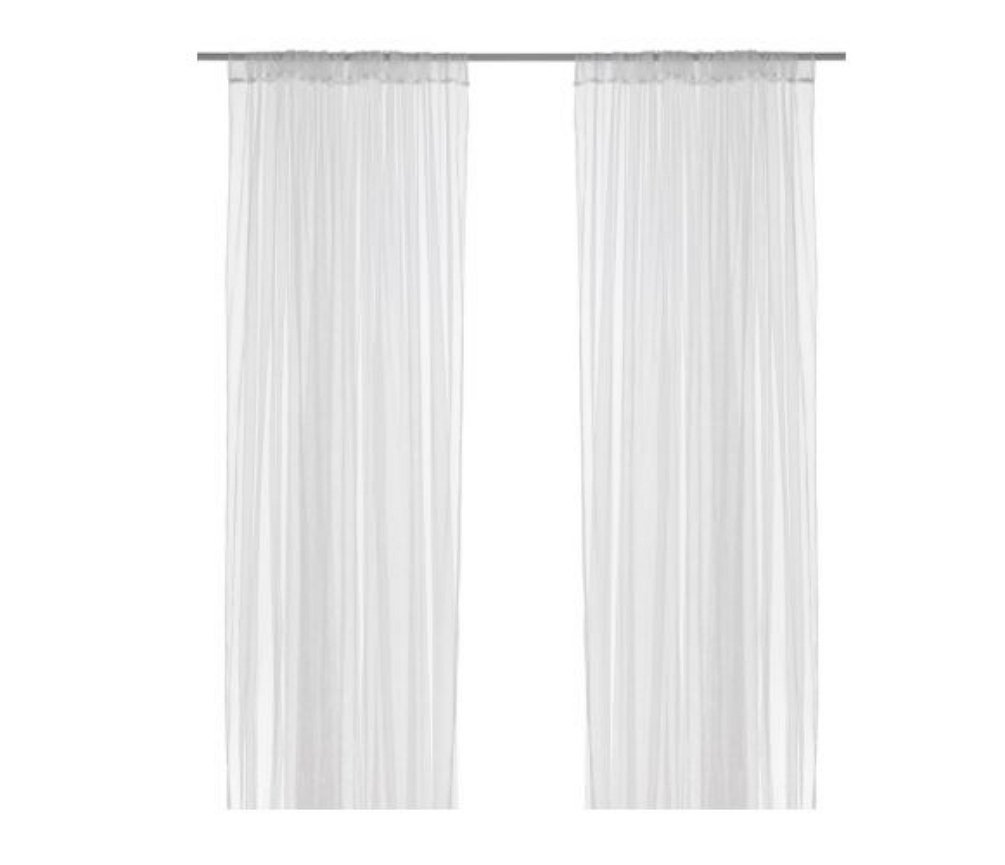 IKEA LILL mesh lace curtains, 8 panels (4 pairs), 110'' x 98 '' by IKEA