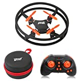 Dwi Dowellin Mini Drone Crash Proof 3D Flips and Rolls RC Quadcopter Fly Nano Toy Drones with Case for Beginners Children Adults Kids Gift Headless Mode One Key Return Spin Quad Copter