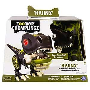 Spin Master 6026990 - Zoomer - Chomplingz, mascotas electrónicas, negro
