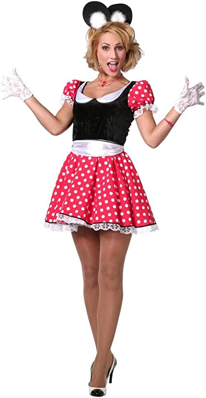Horror-Shop Sexy Minnie Mouse Traje De Damas 44: Amazon.es ...