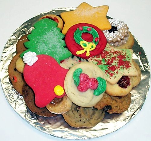 Christmas Cookie Trays.Christmas Cookie Tray Mini