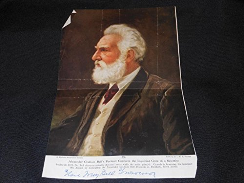 - Elsie May Bell Grosvenor (d.64) Signed Alexander Graham Bell Daughter Photo F14