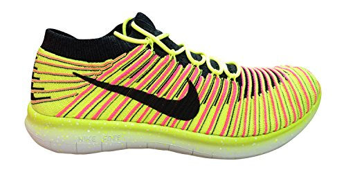 Nike Free Rn Motion Flyknit Oc Mens Multi-color Textiel Atletische Loopschoenen 12