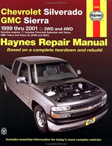 chevrolet silverado gmc sierra 1999 2001 haynes automotive repair rh amazon com 2001 silverado repair manual for free 2001 silverado repair manual for free