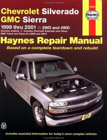 Chevrolet Silverado GMC Sierra 1999-2001 (Haynes Automotive Repair Manual Series)