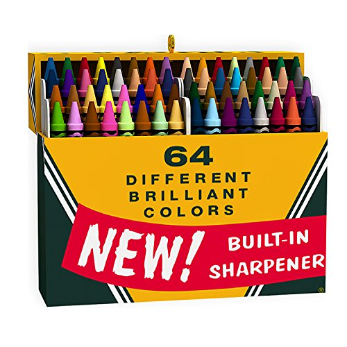 Hallmark Keepsake 2016 Crayola Crayons Big Box of 64 Christmas Ornament (Crayola Ornament)