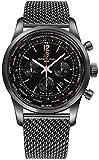 Breitling Transocean Chronograph Unitime Pilot Mens Watch MB0510U6/BC80