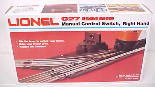 - Lionel O-27 Manual Right-Hand Switch