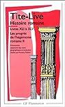 Histoire romaine, livres XLI à XLV par Tite-Live