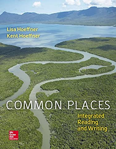 Loose Leaf Common Places 1e with MLA Booklet 2016 (Art Of Common Place)