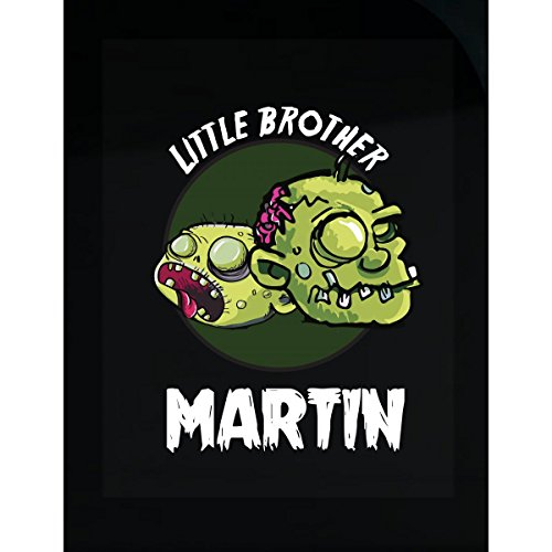 Prints Express Halloween Costume Martin Little Brother Funny Boys Personalized Gift - Sticker