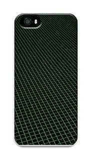 iPhone 5 5S Case grid 3D Custom iPhone 5 5S Case Cover