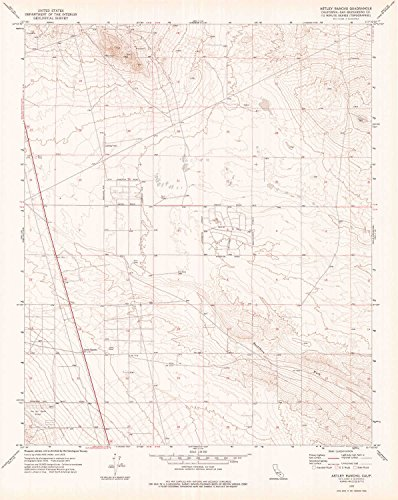 YellowMaps Astley Rancho CA topo map, 1:24000 Scale, 7.5 X 7.5 Minute, Historical, 1973, Updated 1976, 26.9 x 21.4 in - Paper